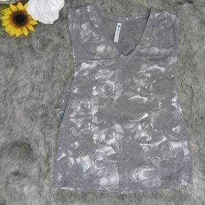 Fabletics Grey Active Tank Top